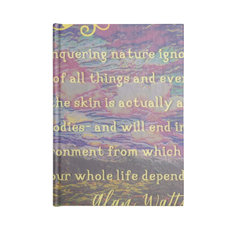 Hostile Towards Nature Accessories Notebook by An Authentic Piece