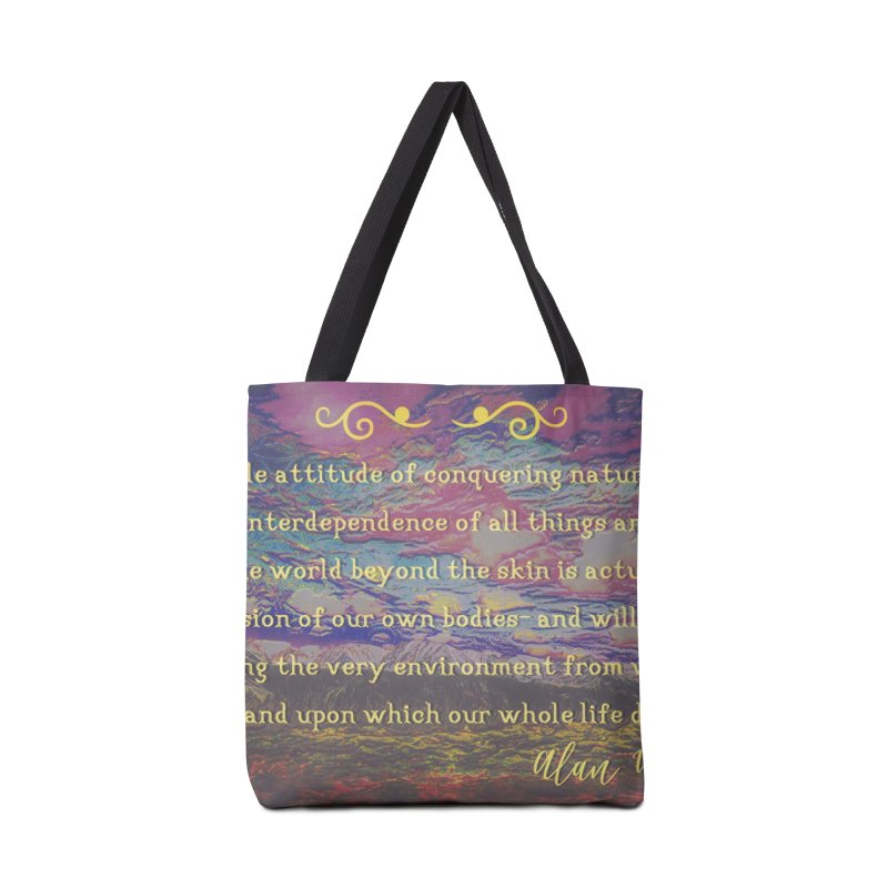 Hostile Towards Nature Accessories Bag by An Authentic Piece