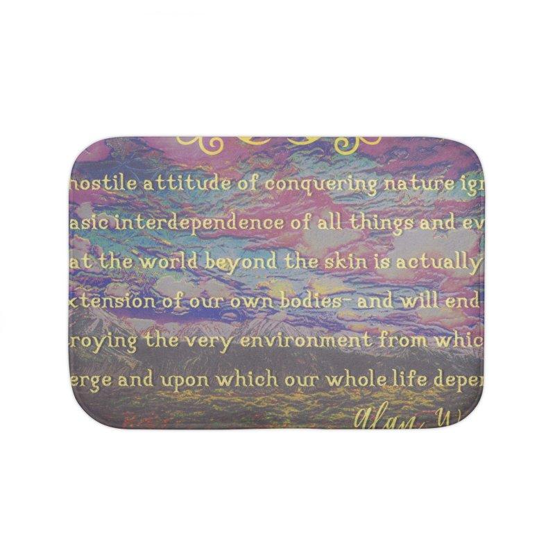 Hostile Towards Nature Home Bath Mat by An Authentic Piece