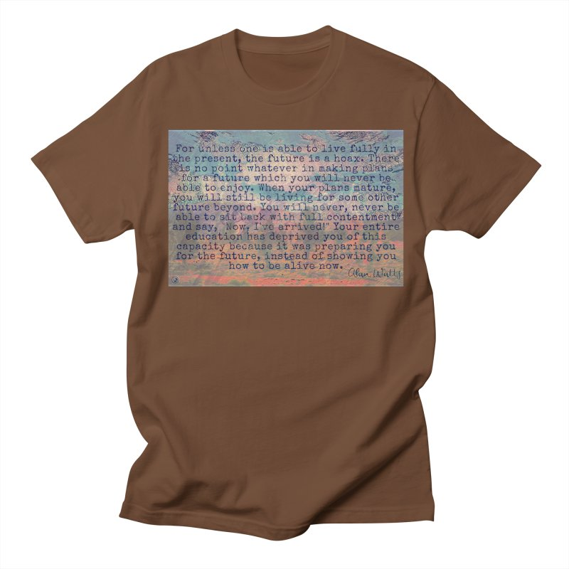 Be Present Men's Regular T-Shirt by An Authentic Piece