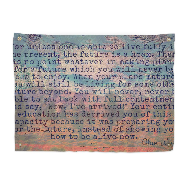 Be Present Home Tapestry by An Authentic Piece