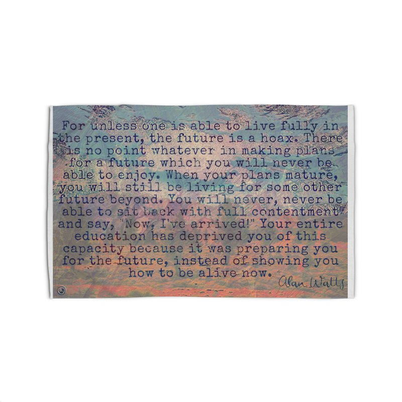 Be Present Home Rug by An Authentic Piece