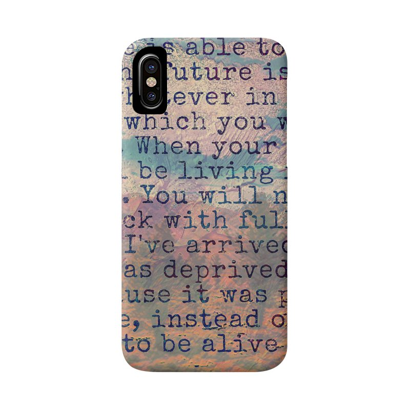 Be Present Accessories Phone Case by An Authentic Piece