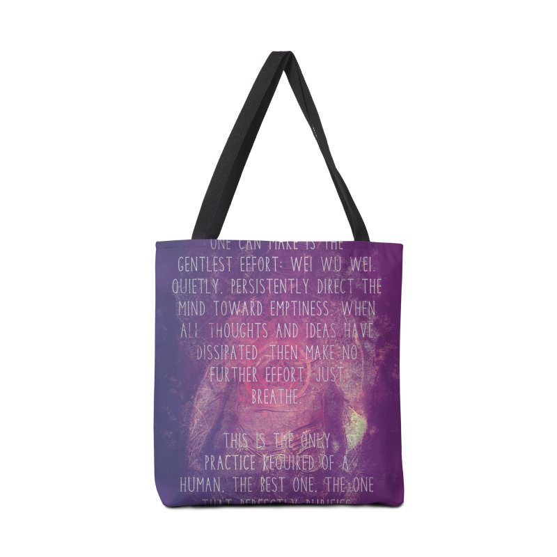 Just Breathe Accessories Bag by An Authentic Piece