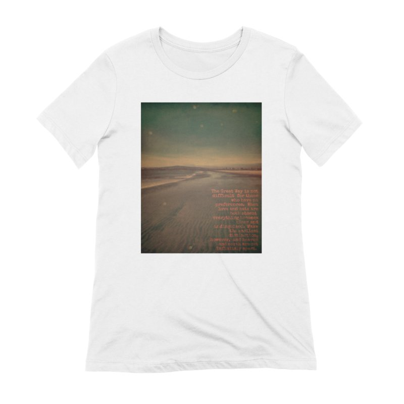 The Great Way Women's Extra Soft T-Shirt by An Authentic Piece