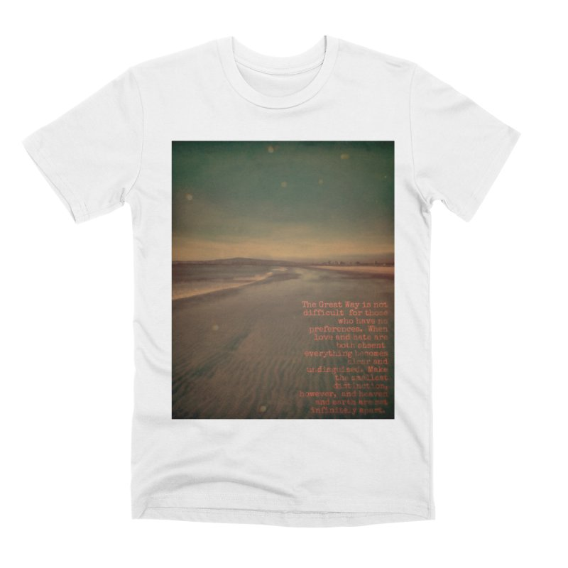 The Great Way Men's Premium T-Shirt by An Authentic Piece