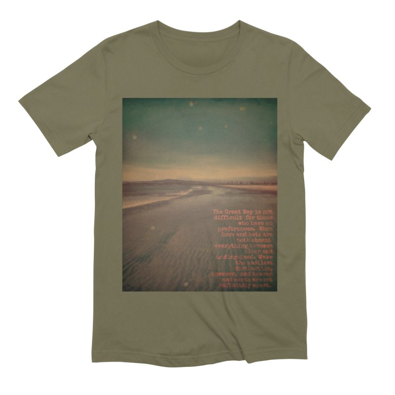 The Great Way Men's Extra Soft T-Shirt by An Authentic Piece