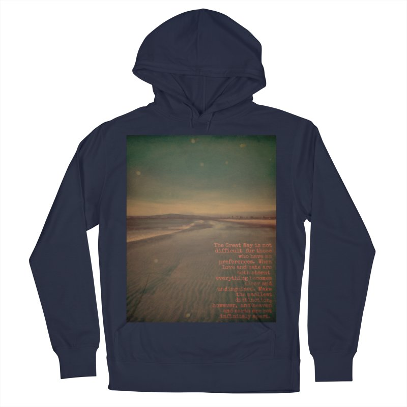 The Great Way Men's French Terry Pullover Hoody by An Authentic Piece