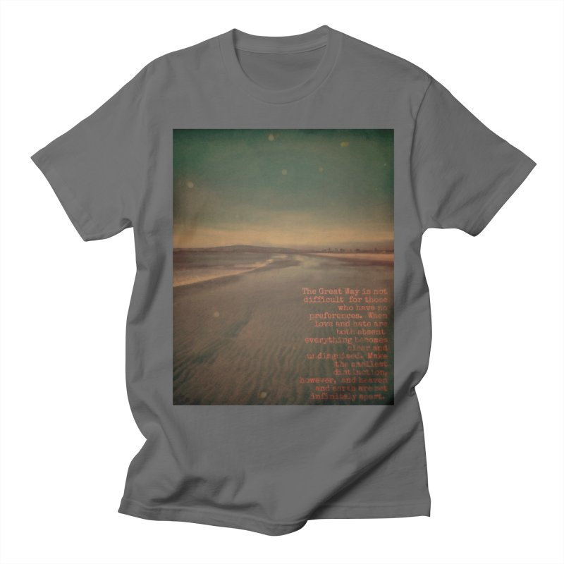 The Great Way Men's Regular T-Shirt by An Authentic Piece