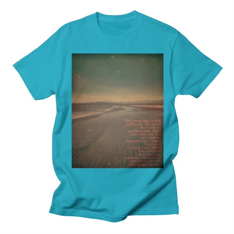 The Great Way Women's Regular Unisex T-Shirt by An Authentic Piece
