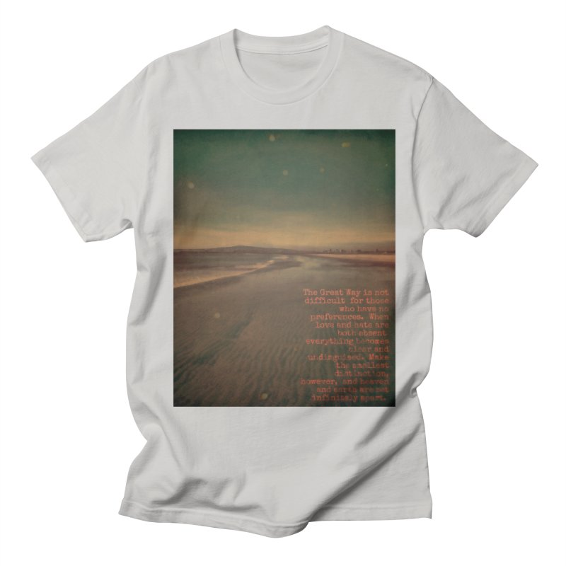 The Great Way Men's T-Shirt by An Authentic Piece