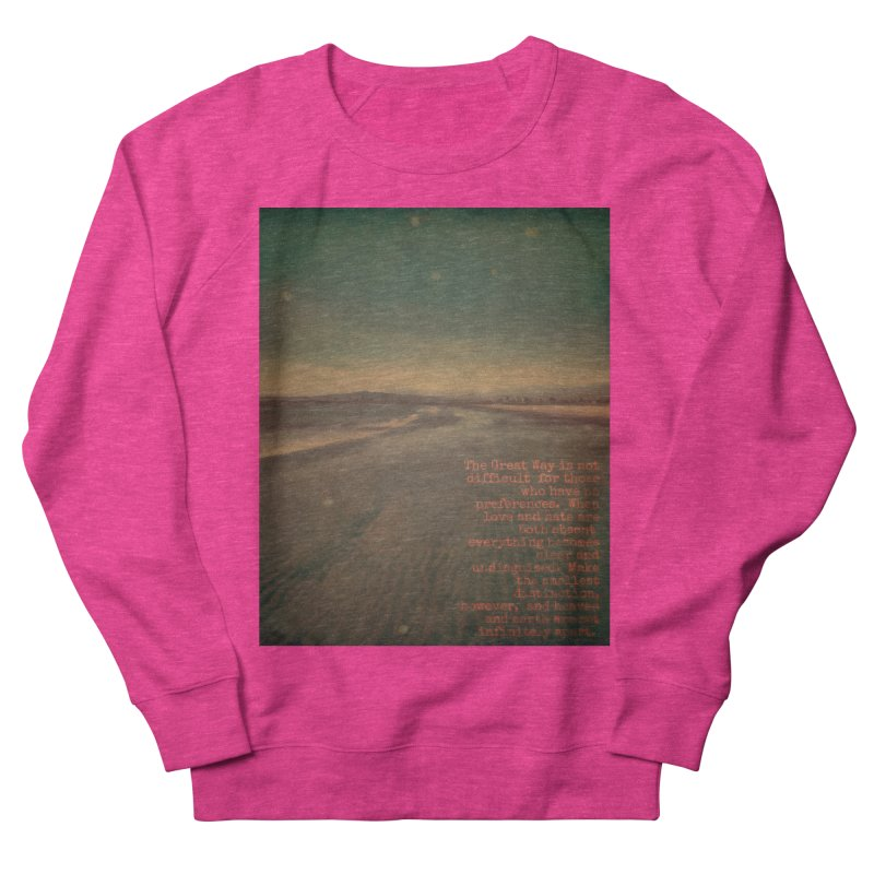 The Great Way Men's Sweatshirt by An Authentic Piece