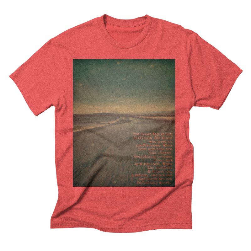 The Great Way Men's Triblend T-Shirt by An Authentic Piece