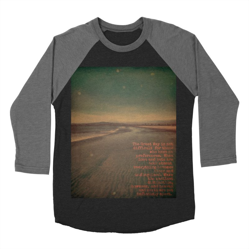 The Great Way Men's Baseball Triblend Longsleeve T-Shirt by An Authentic Piece