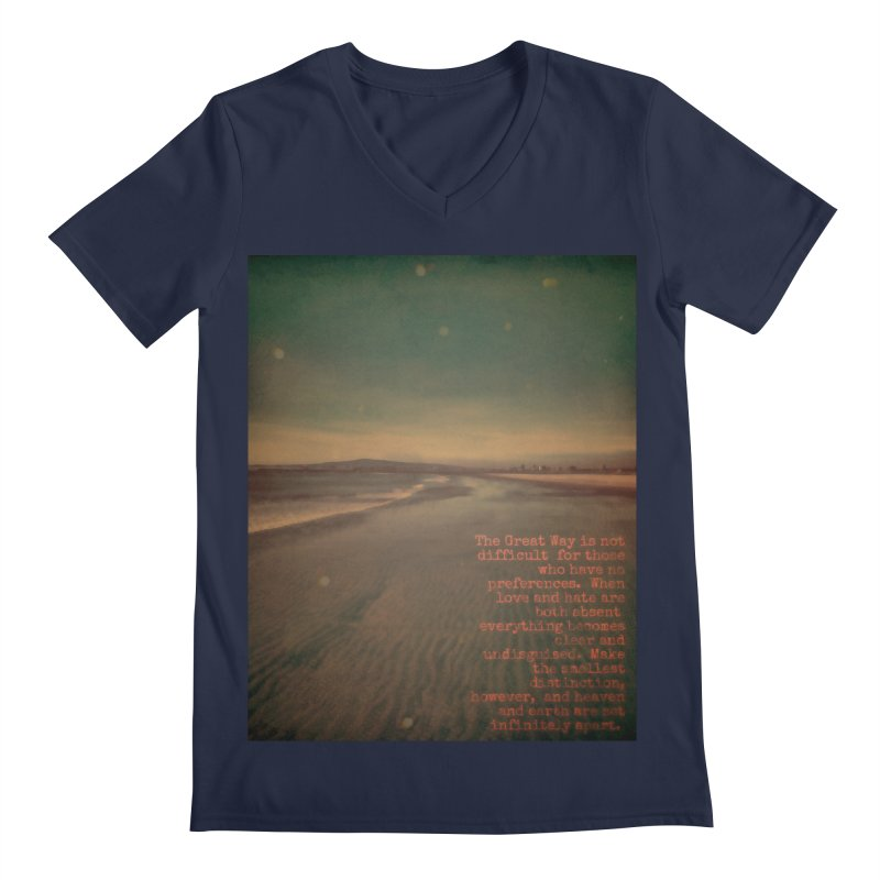 The Great Way Men's Regular V-Neck by An Authentic Piece