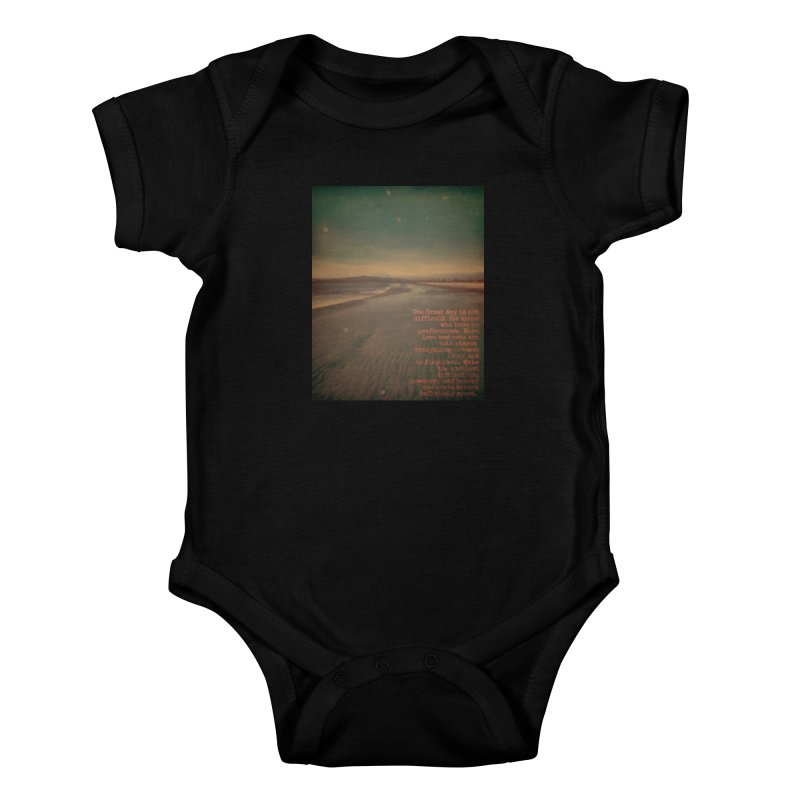 The Great Way Kids Baby Bodysuit by An Authentic Piece