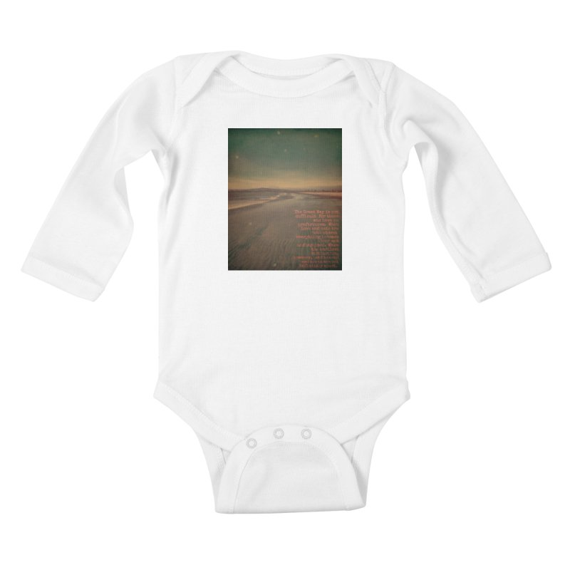 The Great Way Kids Baby Longsleeve Bodysuit by An Authentic Piece