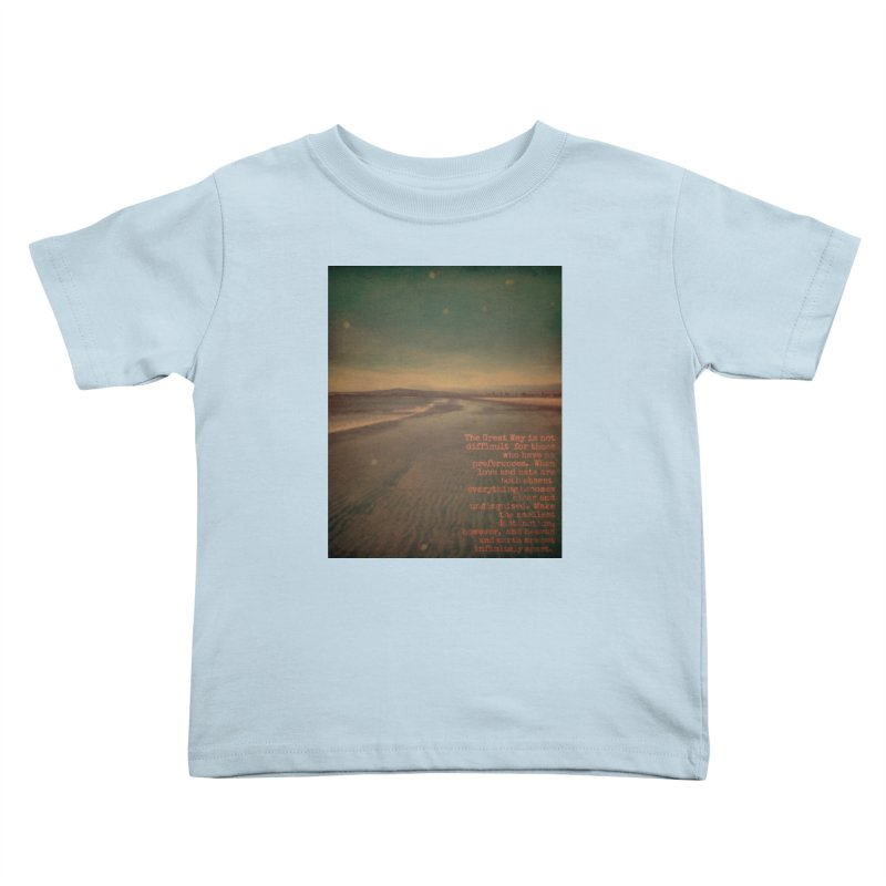 The Great Way Kids Toddler T-Shirt by An Authentic Piece