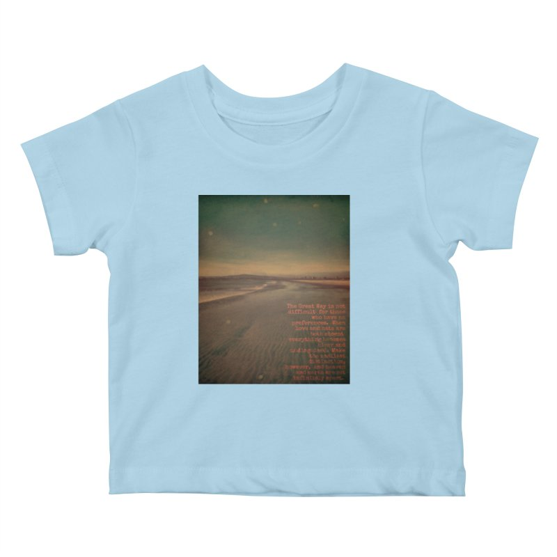 The Great Way Kids Baby T-Shirt by An Authentic Piece