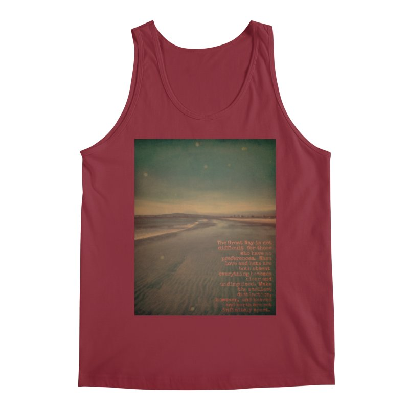 The Great Way Men's Tank by An Authentic Piece