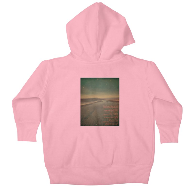 The Great Way Kids Baby Zip-Up Hoody by An Authentic Piece