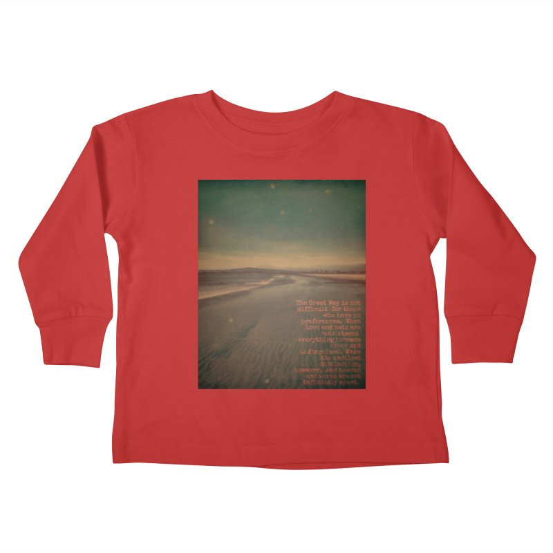 The Great Way Kids Toddler Longsleeve T-Shirt by An Authentic Piece