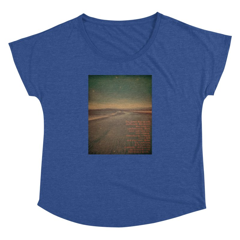 The Great Way Women's Dolman Scoop Neck by An Authentic Piece