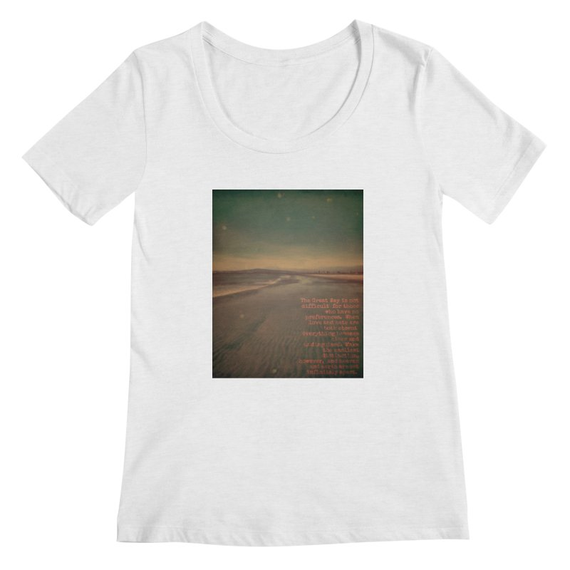 The Great Way Women's Regular Scoop Neck by An Authentic Piece