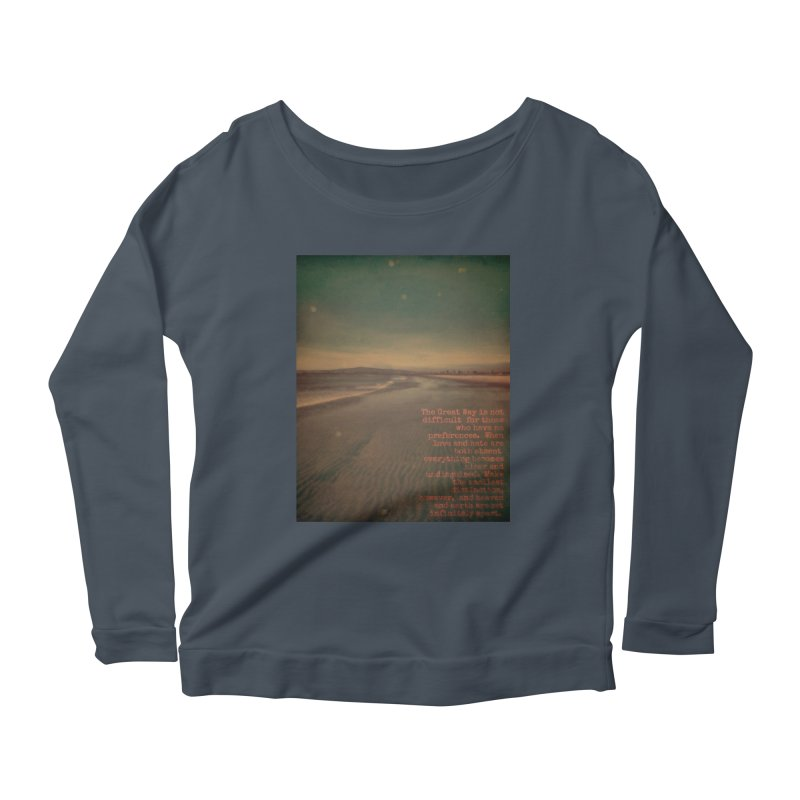 The Great Way Women's Scoop Neck Longsleeve T-Shirt by An Authentic Piece