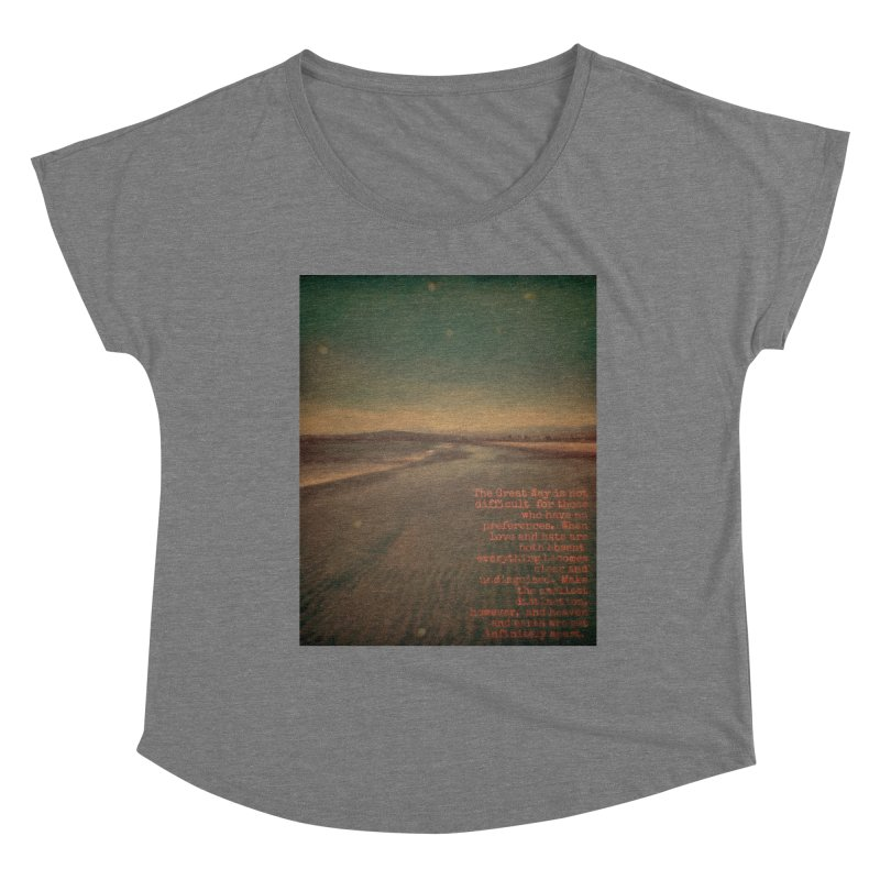 The Great Way Women's Scoop Neck by An Authentic Piece