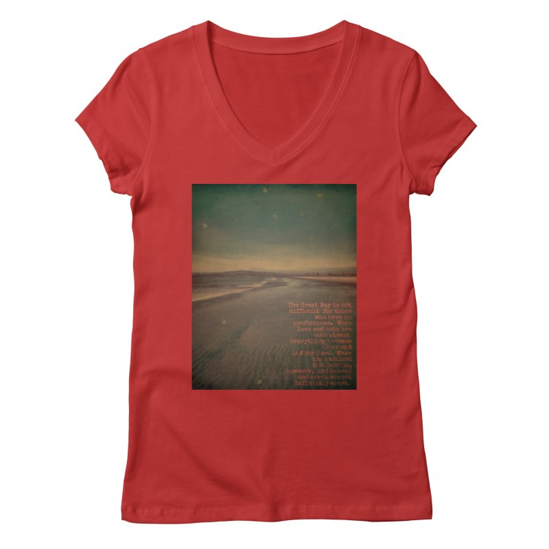 The Great Way Women's Regular V-Neck by An Authentic Piece