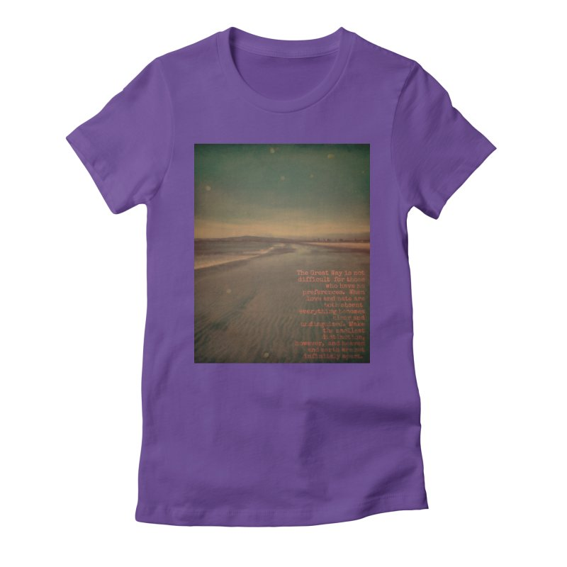 The Great Way Women's T-Shirt by An Authentic Piece