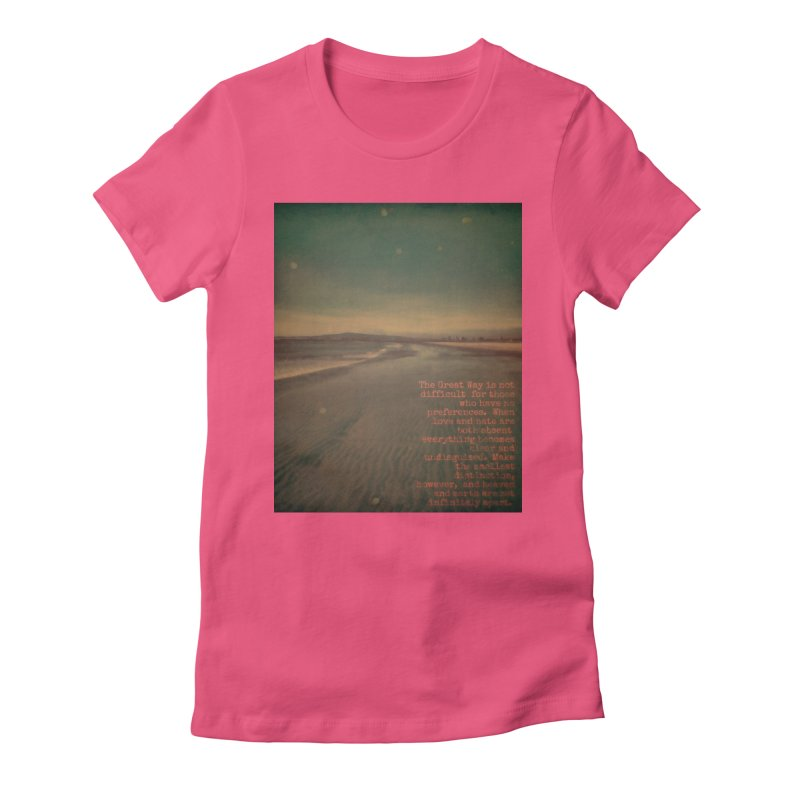 The Great Way Women's Fitted T-Shirt by An Authentic Piece