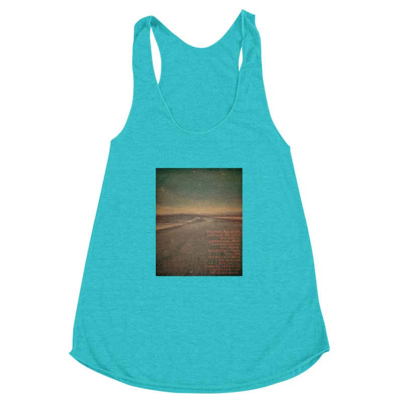 The Great Way Women's Racerback Triblend Tank by An Authentic Piece