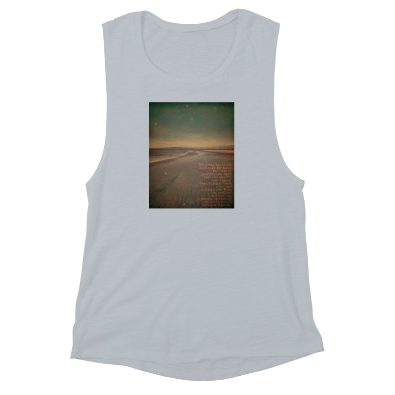 The Great Way Women's Muscle Tank by An Authentic Piece