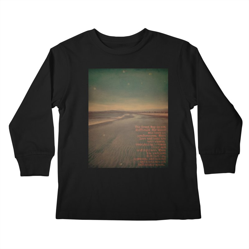 The Great Way Kids Longsleeve T-Shirt by An Authentic Piece