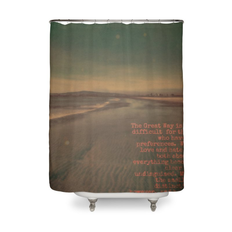 The Great Way Home Shower Curtain by An Authentic Piece