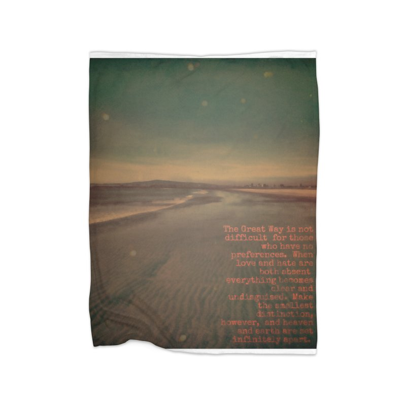 The Great Way Home Fleece Blanket Blanket by An Authentic Piece