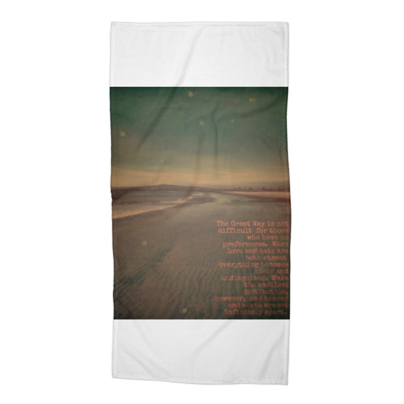 The Great Way Accessories Beach Towel by An Authentic Piece