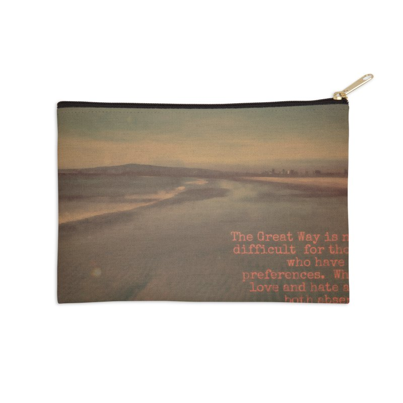 The Great Way Accessories Zip Pouch by An Authentic Piece