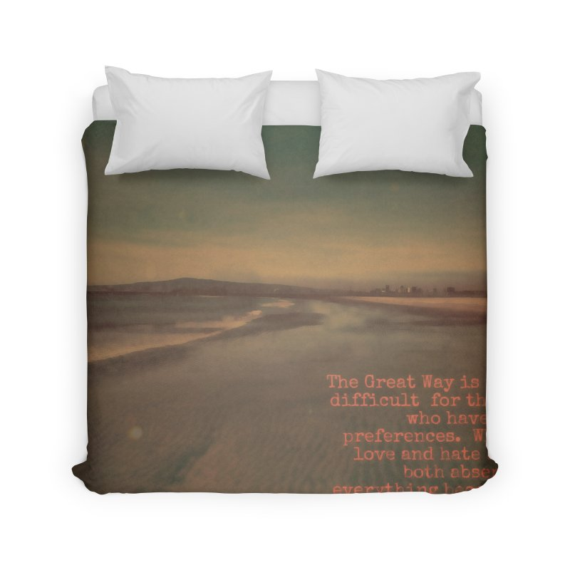 The Great Way Home Duvet by An Authentic Piece