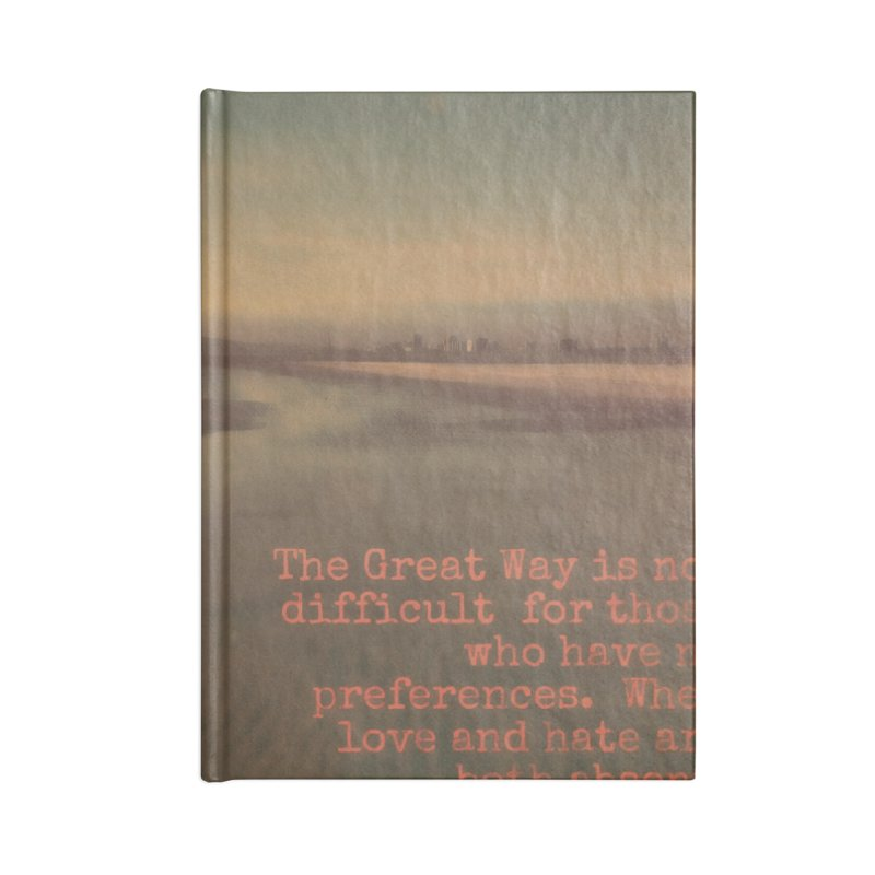 The Great Way Accessories Notebook by An Authentic Piece