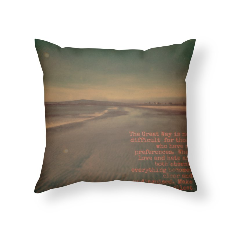The Great Way Home Throw Pillow by An Authentic Piece
