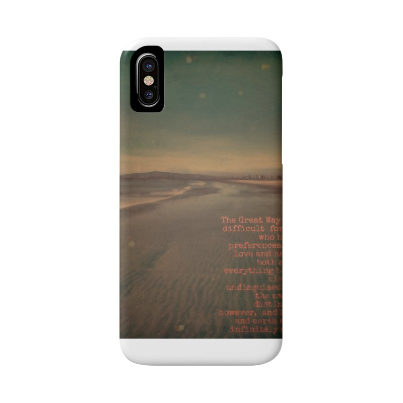 The Great Way Accessories Phone Case by An Authentic Piece