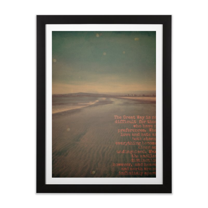 The Great Way Home Framed Fine Art Print by An Authentic Piece