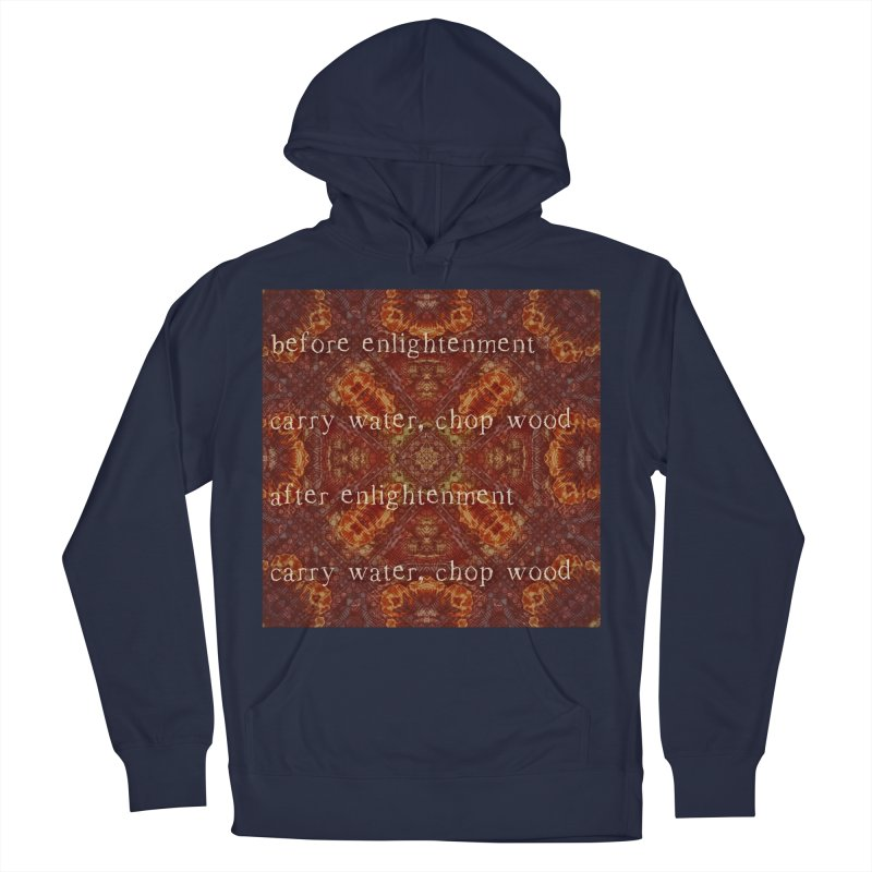 Before & After Enlightenment Men's French Terry Pullover Hoody by An Authentic Piece
