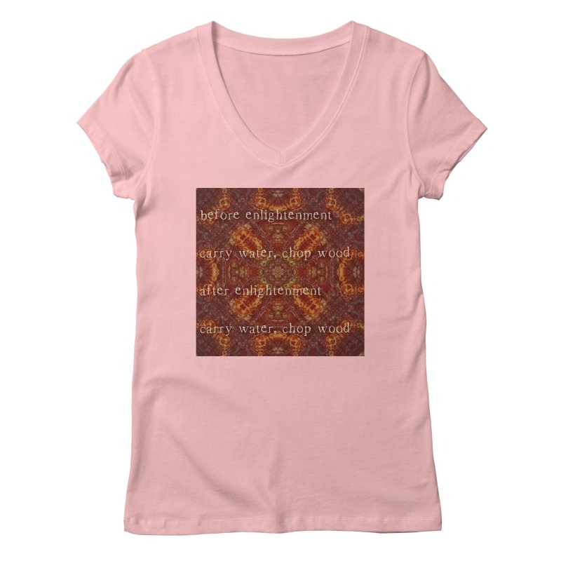 Before & After Enlightenment Women's Regular V-Neck by An Authentic Piece