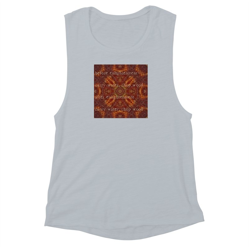 Before & After Enlightenment Women's Muscle Tank by An Authentic Piece
