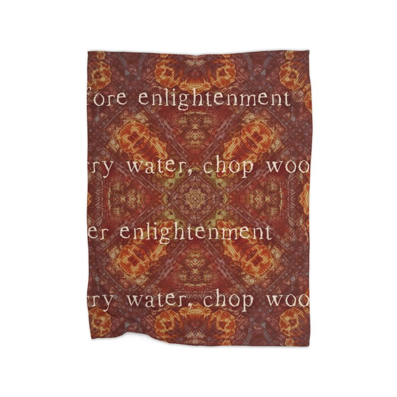 Before & After Enlightenment Home Blanket by An Authentic Piece