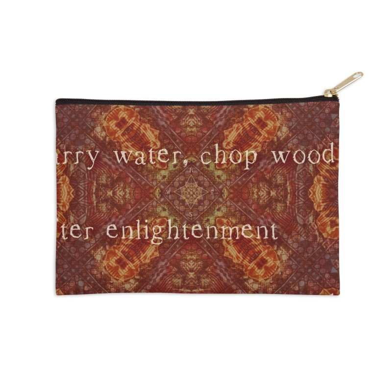 Before & After Enlightenment Accessories Zip Pouch by An Authentic Piece